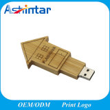 Clé de mémoire USB de mémoire Flash en bois USB Pendrive de Customed