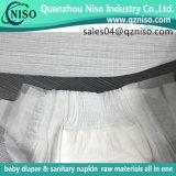 Bande élastique de taille pour la matière première de couche-culotte de bébé de constructeur de couche-culotte