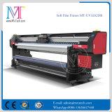 3.2M لفة إلى لفة الأشعة فوق البنفسجية طابعة Withgen5 رأس الطباعة الألومنيوم راية طابعة للبيع MT-Softfilm3207 للأشعة فوق البنفسجية