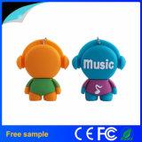 Heiße Verkaufs-Karikatur-Musik USB-grelle Platte