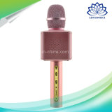 Altifalante sem fio portátil do microfone do karaoke mini