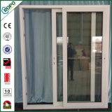 PVC二重ガラスブラインドの内部内部部屋のドアデザイン