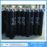 Cylindre de gaz à l'atmosphère sans soudure 2016 de 40L ISO9809 / GB5099