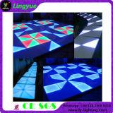 Suelo iluminado de la etapa del concierto de Dance Floor LED