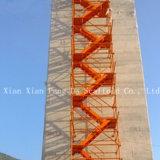 De hoge Kooi van de Ladder van de Stap van de Veiligheid van de Steiger van de Pijler van de Brug