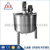 Het Roestvrij staal van de Rang van het voedsel Vloeibare het Mengen zich van 500 Liter Tank