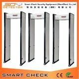 Porte extérieure de garantie de zone de cadre de porte de porte simple de détecteur de métaux
