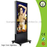 Marco de aluminio LED de la venta de la visualización caliente de la foto que hace publicidad de Lightbox