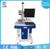 Dongguan 최고 Qualtiy 높은 정밀도 보장 꼬리표 레이블 섬유 Laser 표하기 기계 가격