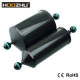 Поддержка плавая рукоятки волокна углерода Hoozhu S22 алюминиевая для света подныривания видео- и камеры подныривания