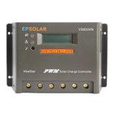 Régulateur de panneau solaire d'Epsolar 60A 12V/24V Vs6024n PWM