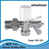 Двинутый под углом кромом клапан радиатора с фильтровал в разреженном пространстве (V21-101)