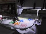 De enige Hoofd 12/15 Kleuren Geautomatiseerde Machine van het Borduurwerk voor de Prijs van het Ontwerp van Tajima van het Borduurwerk van GLB in China
