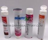 Tubo laminado vacío del empaquetado farmacéutico de piel del cuidado de la crema plástica de aluminio de la mano