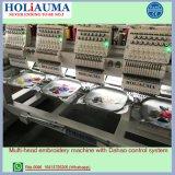 Holiauma上のQuanlity 15は6ヘッド衣服の刺繍機械をTシャツの刺繍の高速刺繍機械機能のためにコンピュータ化されて着色する