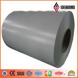 Цвет Ideabond PVDF покрыл алюминиевую катушку для алюминиевого плакирования стены