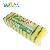 La esponja de la espuma de la limpieza completa a depurador de la esponja para lavarse de los platos