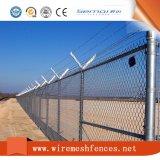 Сетка загородки звена цепи PVC Coated