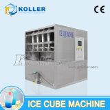 Machine de fabrication de cubes de glace automatique pleine longueur 1ton