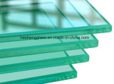 명확한 Tempered Glass Supplying 10mm Thickness