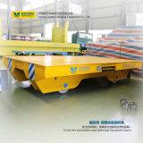 Автомобиль платформы переноса пользы мастерской стальной на рельсах