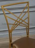 Cadeira nova do restaurante do metal do projeto para o casamento