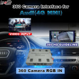 Relação da vista traseira & do panorama 360 para a tela do molde da entrada de sinal do sistema Lvds RGB do Mmi de Audi 3G