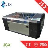 Jsx6040 piccoli comitati del cuoio del tessuto del laser del tavolo 60W che intagliano la macchina del laser