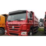 사용된 336HP 6X4 Sinotruck HOWO 덤프 트럭