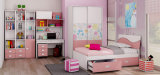 Мебель спальни популярной самомоднейшей мебели малышей цветастая деревянная (Nobel)