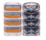 Cartucho sostenido Compatiable de las hojas de afeitar para la energía de fusión de Gillette