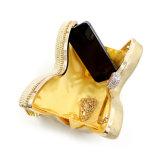 Troddel-Abend-Beutel handgemachte der Handtaschen-Form-Luxuxdame-Designer Butterfly Rhinestone Glittering