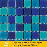 Azul de cerámica caliente de la venta 48X48m m/verde/mosaico amarillento de la mezcla del color para la piscina (natación P48 D01/D02/D03/D04/D05)
