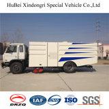 caminhão da vassoura de estrada da sução do lixo de 7cbm Dongfeng Euro4
