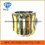 De Galvaniserende Ring van uitstekende kwaliteit van de Juwelen van het Roestvrij staal (SCR2965)