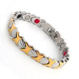Elemento de oro Magneti del acero inoxidable de la energía de la salud bio para las mujeres