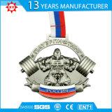 Medalha direta do esporte do metal do Sell da fábrica