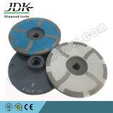 100m m rueda de la taza de la resina de 4 segmentos