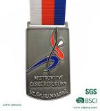 Customzied plata 3D Golf Campeonato Medallón
