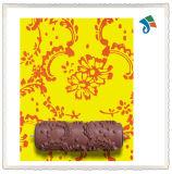 플라스틱 손잡이를 가진 벽 훈장 Empaistic 꽃 패턴 페인트 롤러