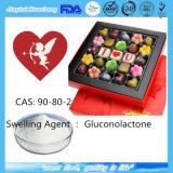 Gluconolactone Gdl для вещества запухания CAS пищевой добавки: 90-80-2