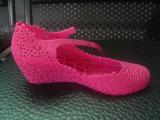メリッサのゼリーの靴を作るためのディスク機械