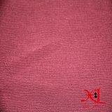 Tela de seda Chiffon agradável do Crepe liso para o vestido