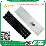 120wattsモノラル太陽電池パネルが付いているオールインワン太陽LEDの街灯
