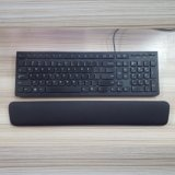 Custom Egonomic Projetado Black Memory Foam Keyboard Hand Wrist Rest