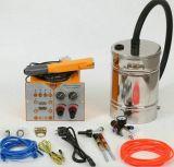 Pistola a spruzzo elettrostatica portatile del cappotto del rivestimento della polvere con la piccola tramoggia