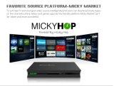 Caixa combinado Android da tevê DVB-S2 com ósmio de Mickyhop, computação distribuída do assediador