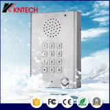 IP Téléphone antidéteant à l'extérieur à l'extérieur de la téléphonie Station téléphonique bleue Knzd-29 avec voix