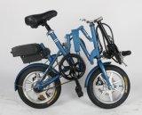 Vélo se pliant électrique neuf chaud de 12 ou 14 pouces avec la batterie au lithium