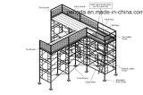 مرونة [كنستروكأيشن قويبمنت] فولاذ [ه] إطار سقالة